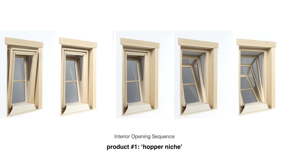 Fenêtres produit 1 : Hopper Niche 2