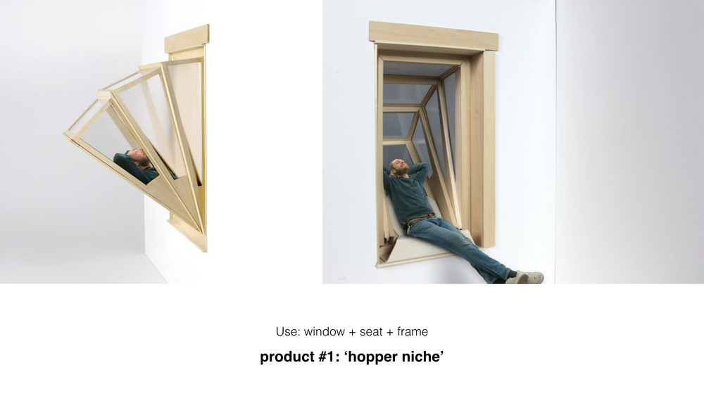 Fenêtres produit 1 : Hopper Niche