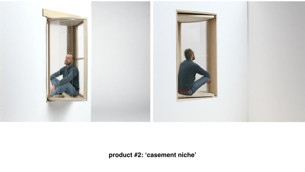 Fenêtres produit 2 : Casement niche