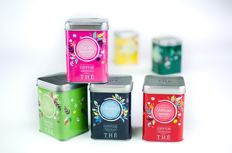 Packagings – Comptoir Français du Thé