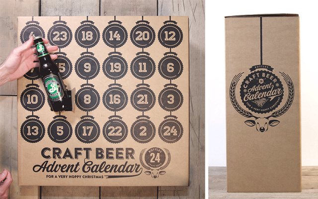 Calendriers de l'avent 2015 - Craft Beer