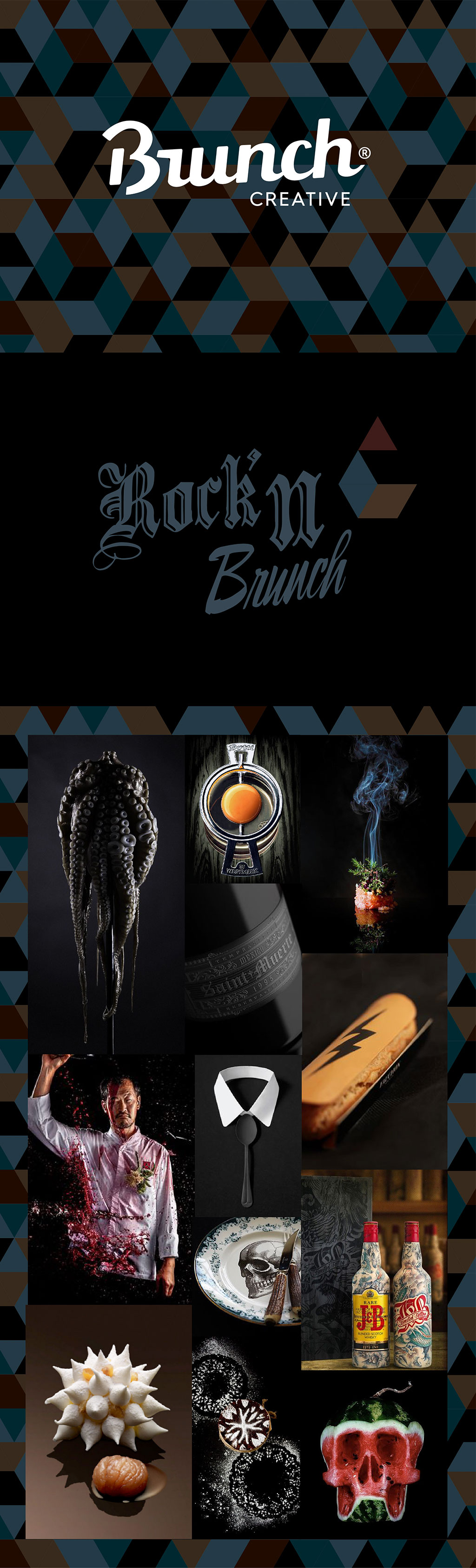 Board Rock & Brunch - Pinterest