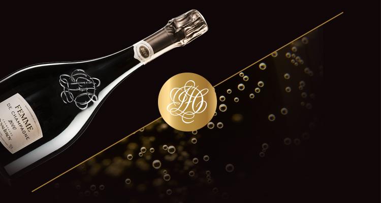 Logo et bouteille champagne – Duval-Leroy