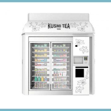 Les Kusmi Kiosk, la nouvelle invention de Kusmi Tea
