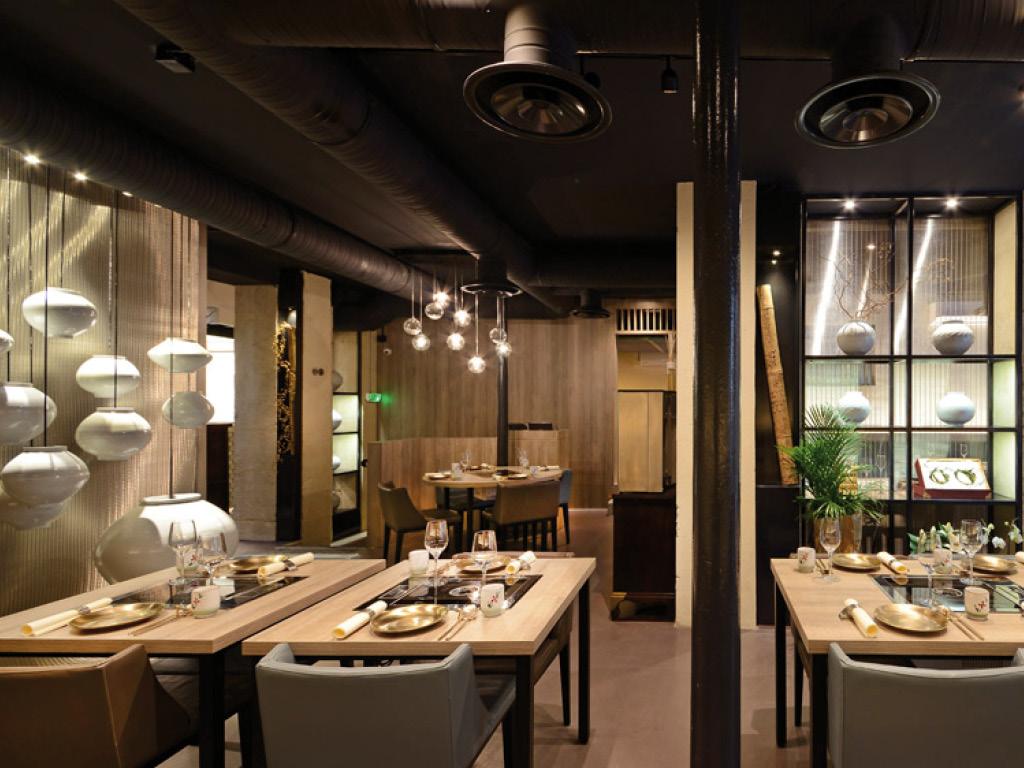 Corée en France - Restaurant Soongrill