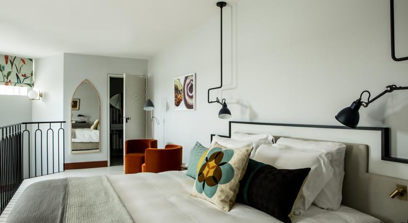 Lit chambre/suite Castelbrac Dinard 3