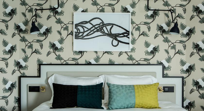 Lit chambre/suite Castelbrac Dinard