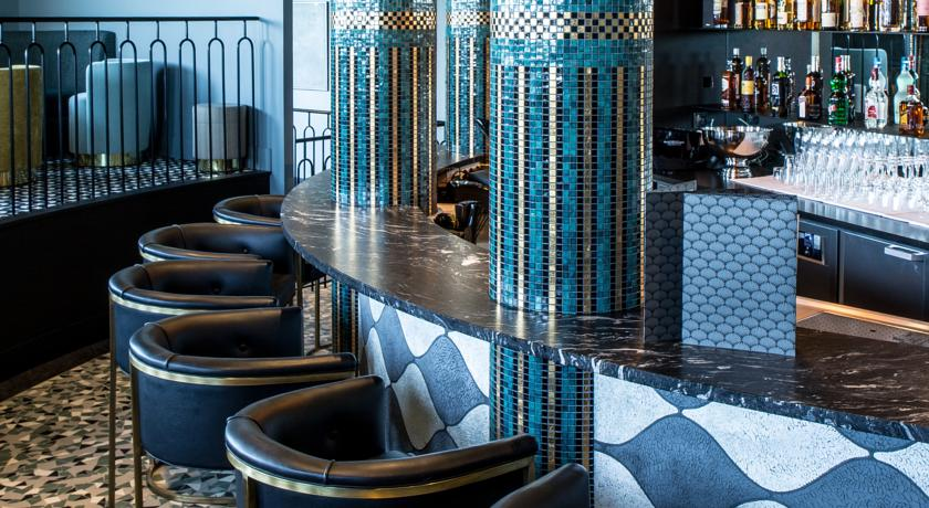 Comptoir bar Castelbrac Dinard