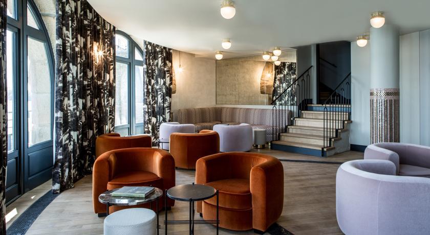 Salon intérieur Castelbrac Dinard