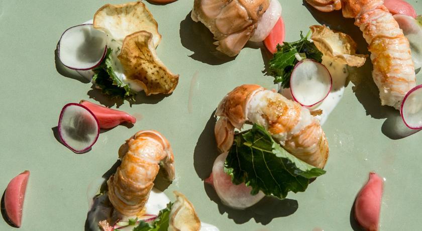 Plat restaurant Castelbrac Dinard