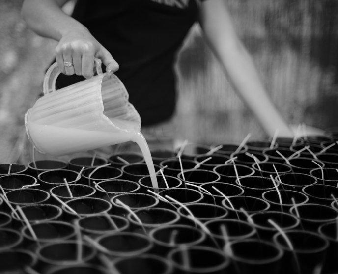 Fabrication - Bougies et savons Rewined 3