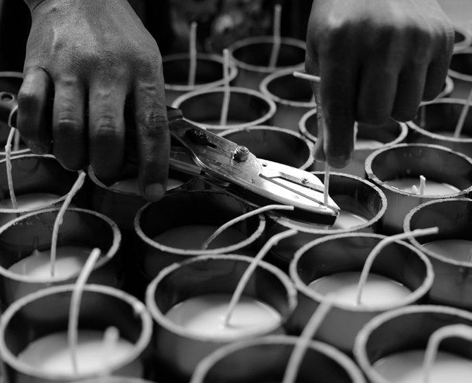 Fabrication - Bougies et savons Rewined 4