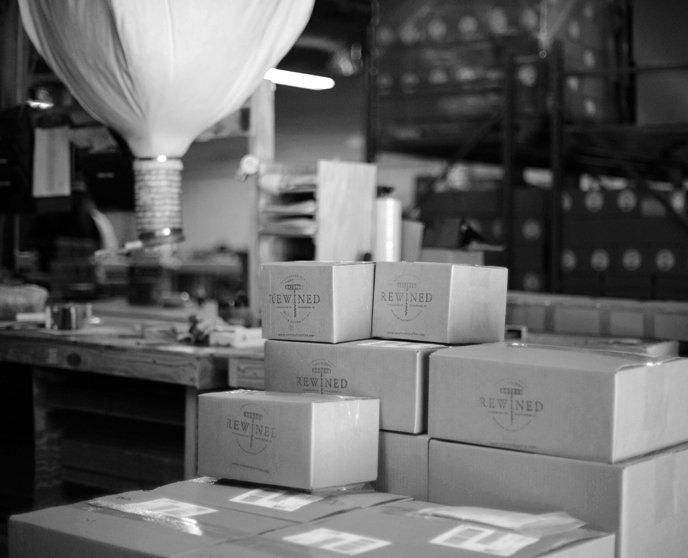 Packagings - Bougies et savons Rewined