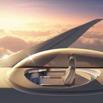 Les sièges d'avion Skydeck de Windspeed Technologies