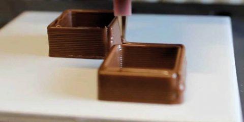 Imprimante 3D - Chocolat