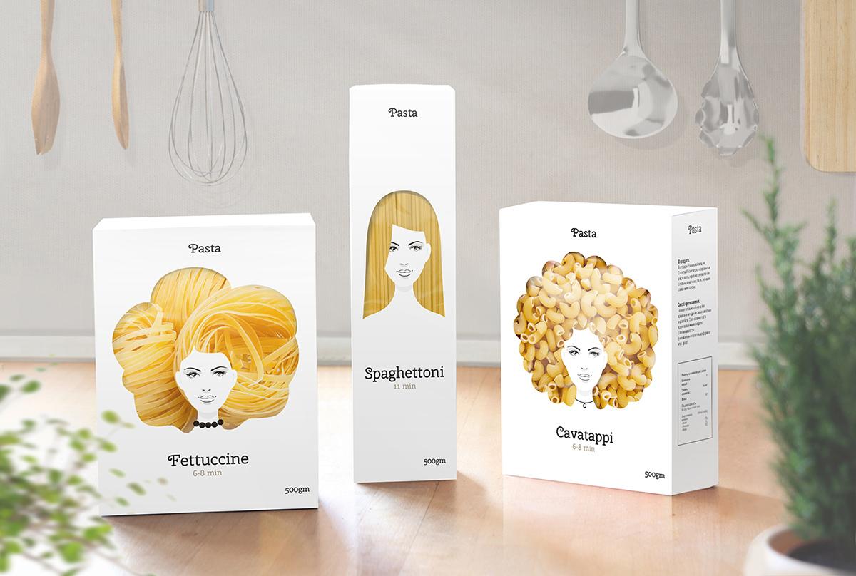 Packagings Pâtes : Nikita Pasta