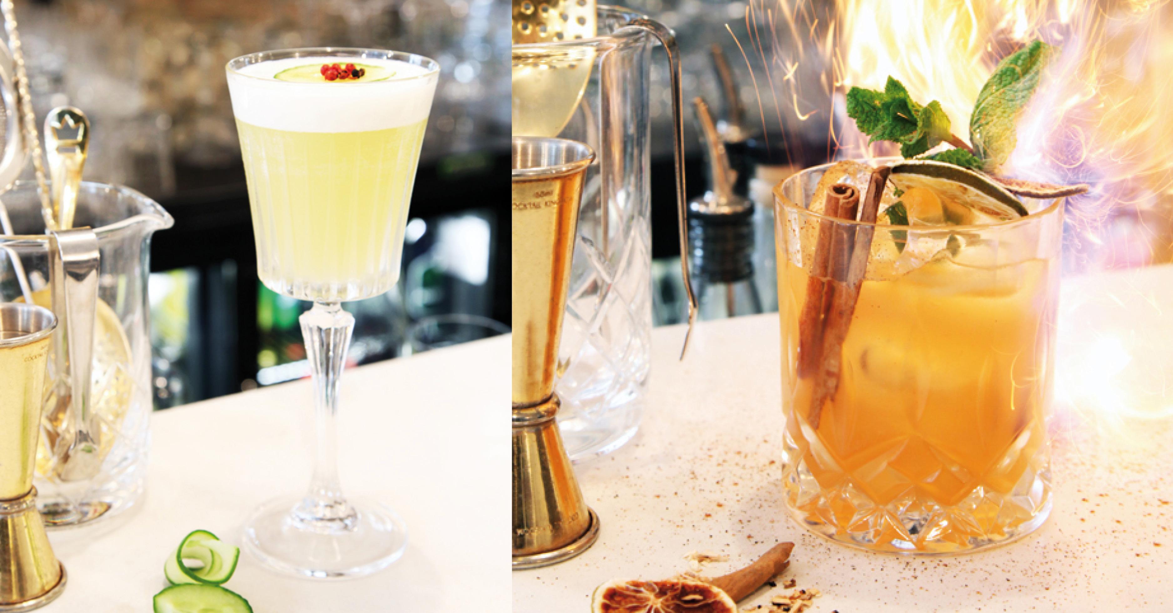 Cocktails Cognac bar