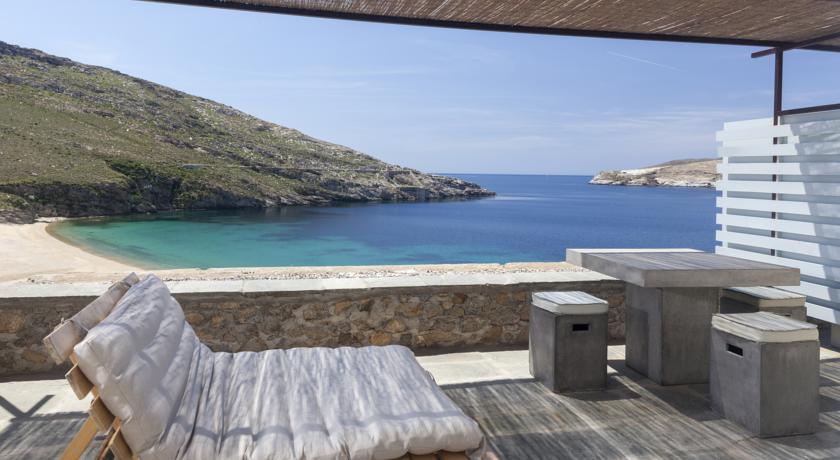 Salon extérieur Serifos Grèce
