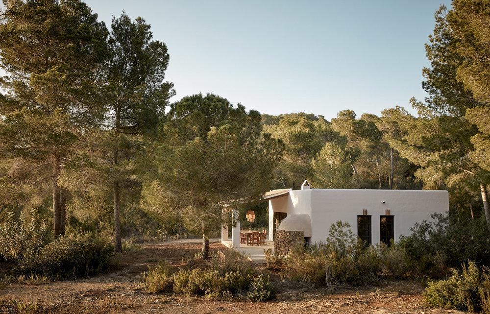 Complexe extérieur Granja Ibiza