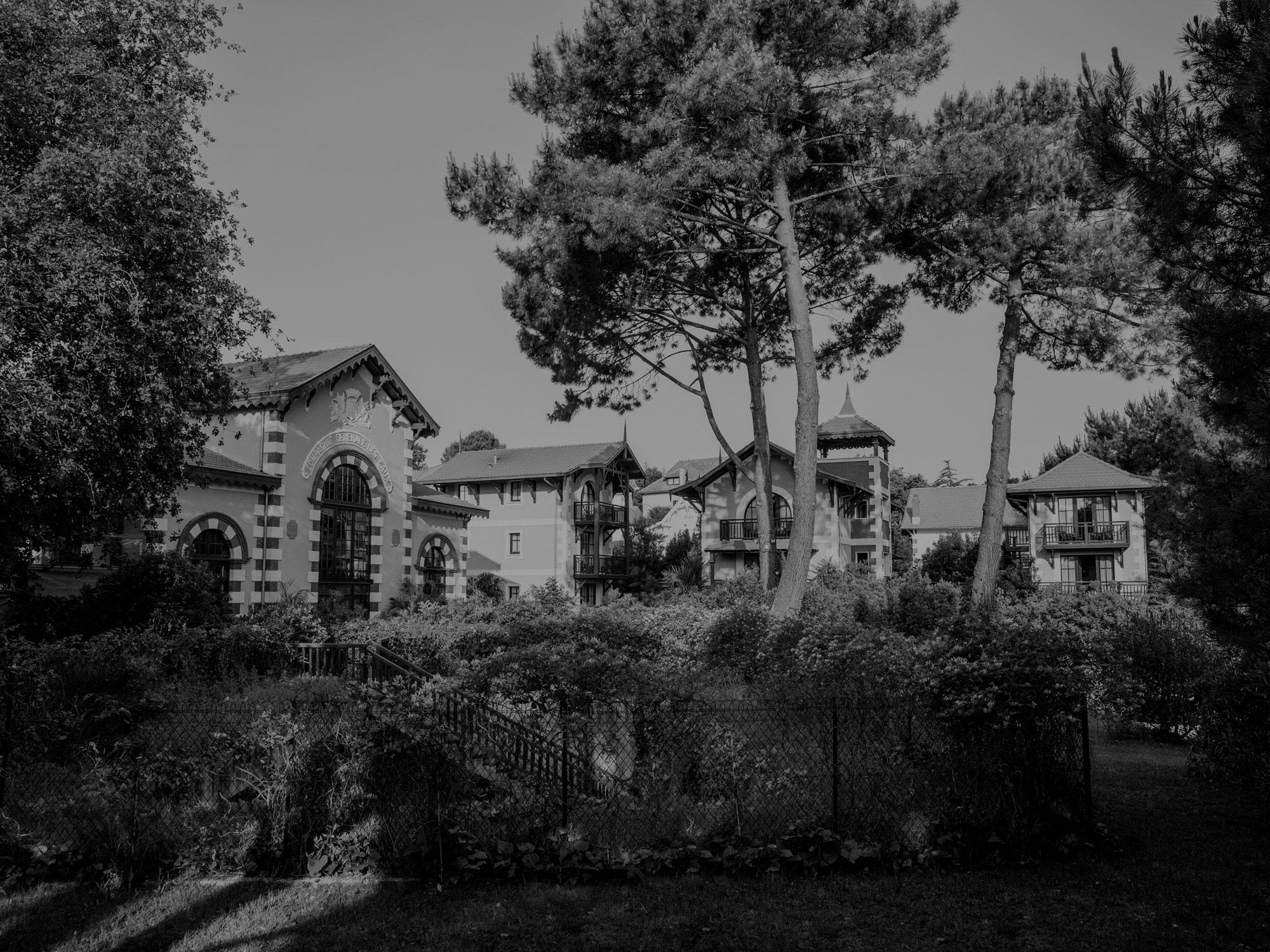 Ancienne bâtisse Hôtel de ville d'hiver Arcachon