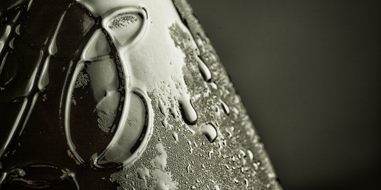 Détails bouteille de champagne – Duval-Leory