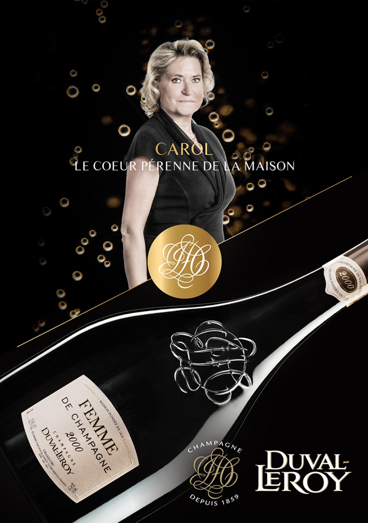 Plaquette institionnelle Carol – Duval-Leroy