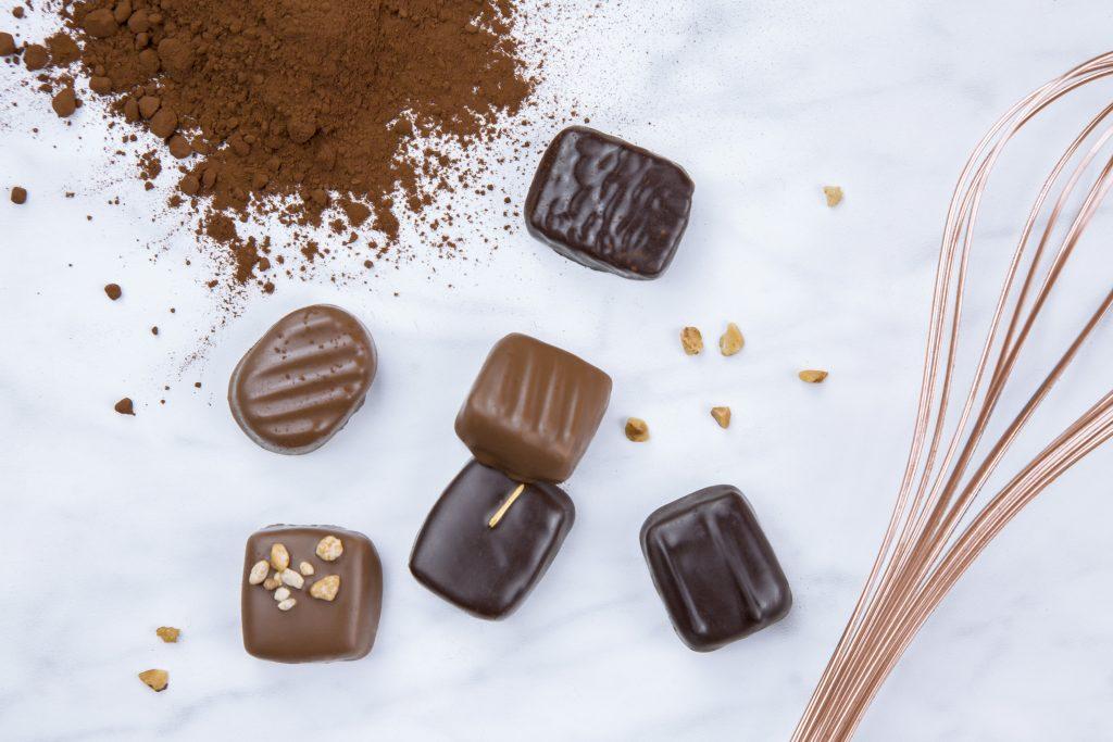 Chocolats pièces Yves Thuriès