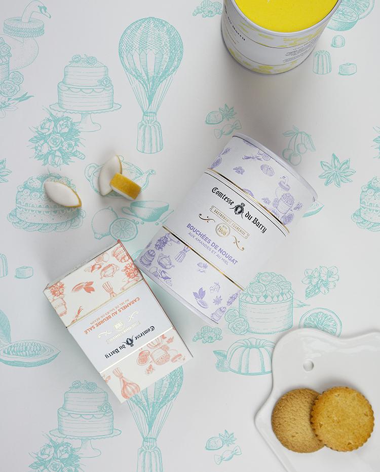 Packagings Gamme sucrée – Comtesse du Barry 2