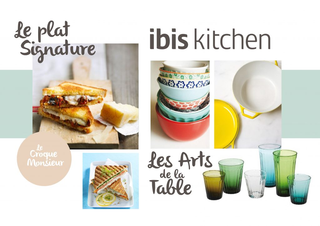 Moodboard plat signature – Ibis kitchen