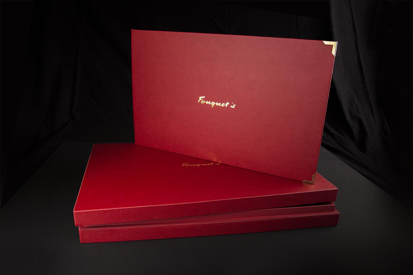 Livre de marque + étui livre – Fouquet's