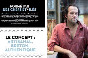 Le concept : artisanal, Breton, Authentique