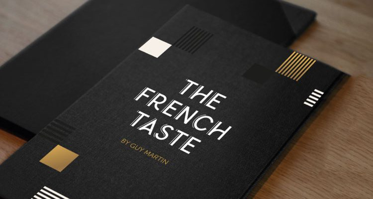 The French Taste by Guy Martin - Menu