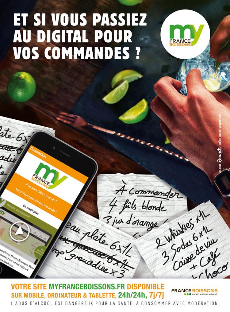 Affiche de campagne : myfranceboissons.fr