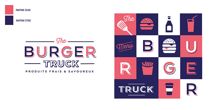 Autogrill - The Burger Truck - charte graphique