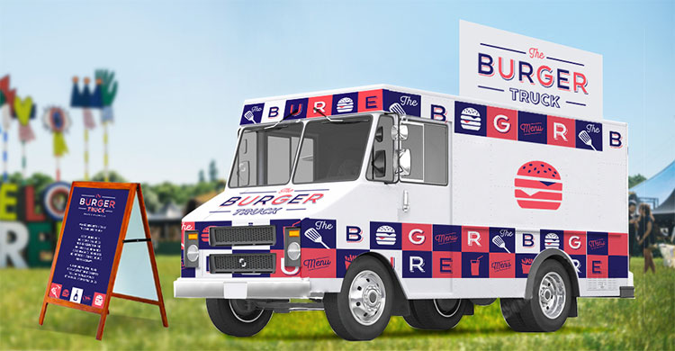 The Burger Truck - Mise en scène