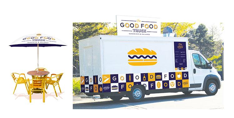 The Good Food Truck - Mise en scène