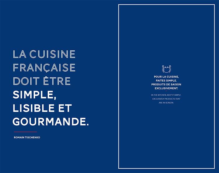 La cuisine Française doit être simple, lisible et gourmande, Romain Tischenko