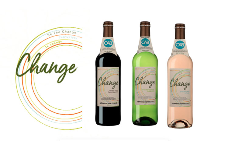 Gérard Bertrand - Be the change - Packaging