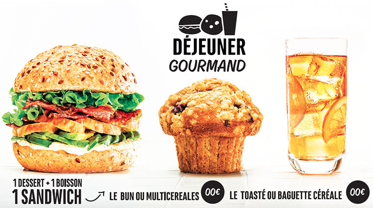 Concept Board - Déjeuner gourmand