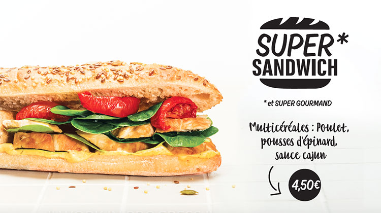 Concept Board - Super Sandwich