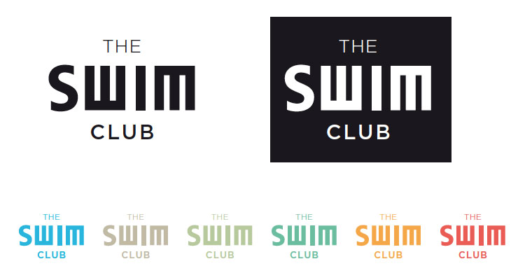 The Swim Club Bordeaux - Concept global - Identité visuelle